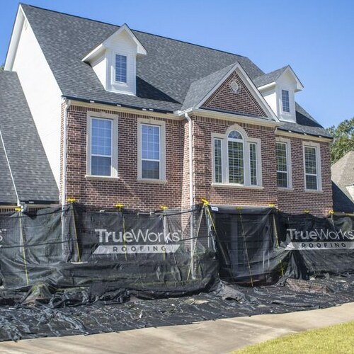 A TrueWorks Roofing Job.